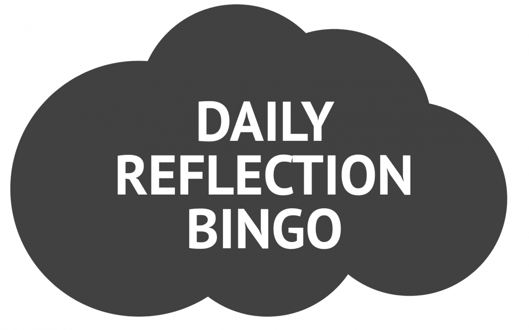 Daily Reflection Bingo